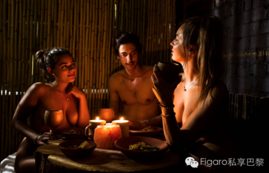 新概念:裸体餐厅将登陆巴黎