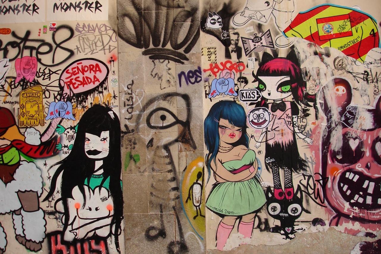 城市的街头艺术——涂鸦 Tags